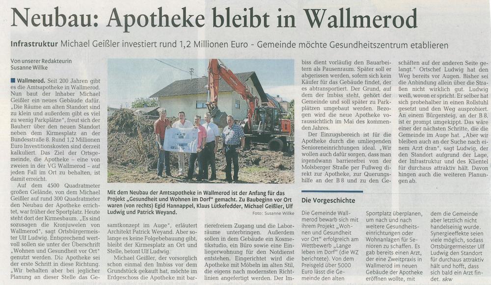 Amts Apotheke Wallmerod