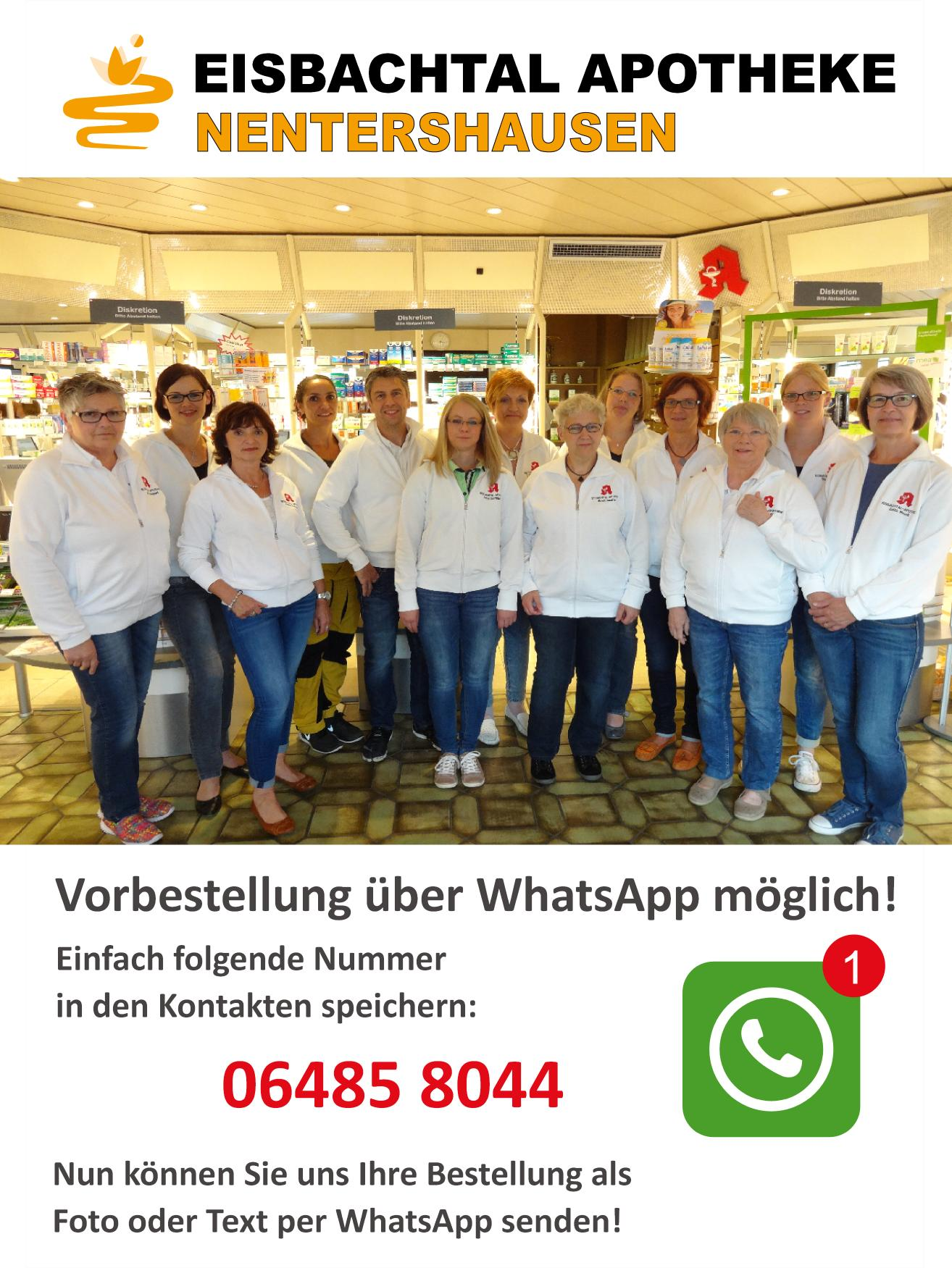 Eisbachtal Apotheke Whats App
