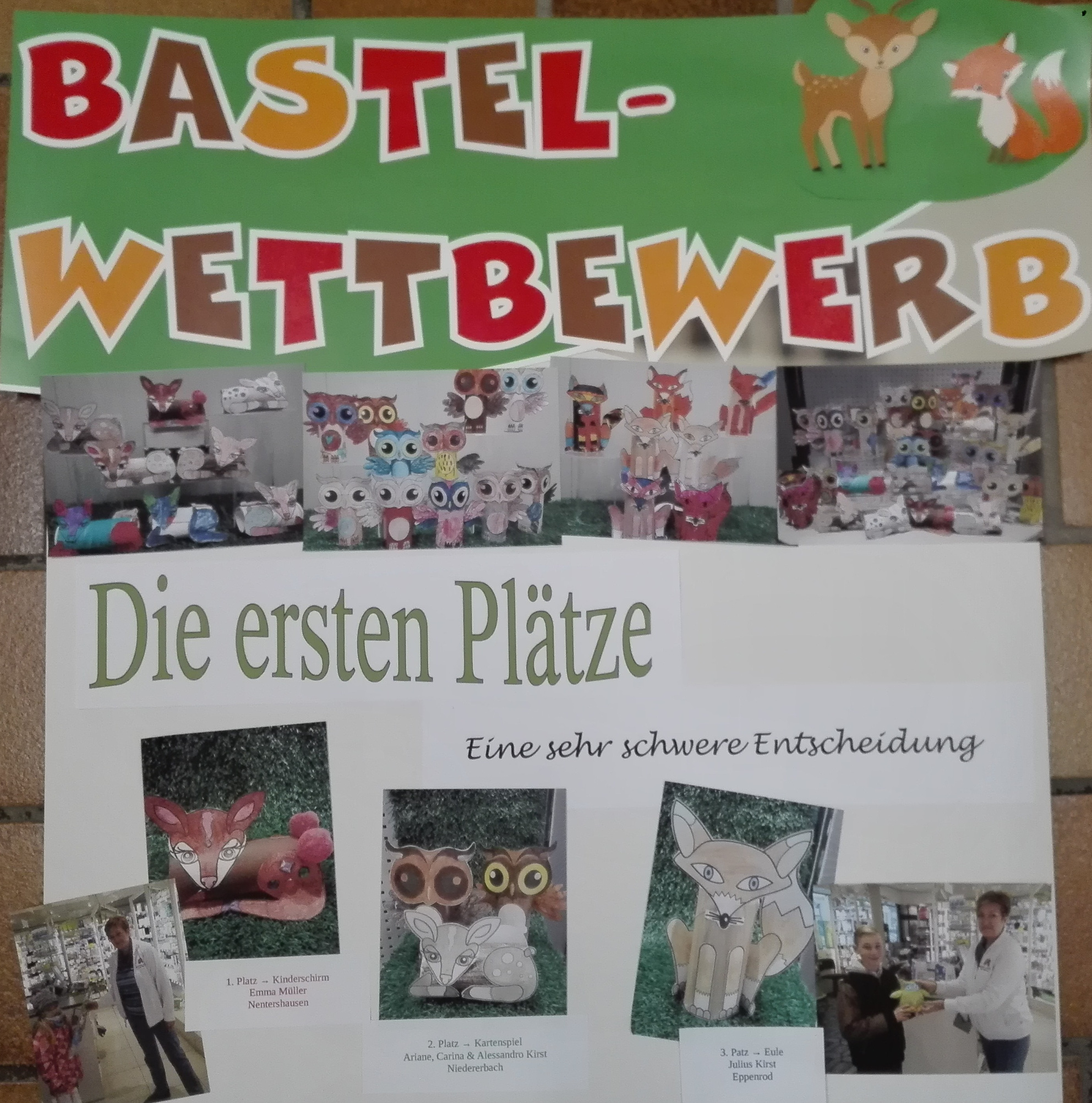 Bastelaktion Eisbachtal Apotheke