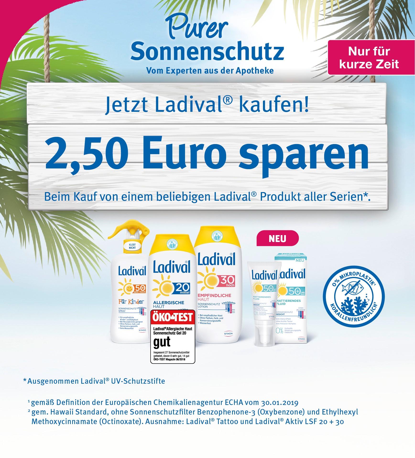 Ladival Aktion Eisbachtal Apotheke